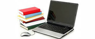 Text Books and Laptop